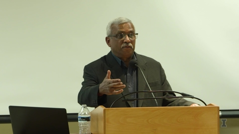 Thumbnail for entry 29th Annual Mortenson Distinguished Lecture - Reggie Raju