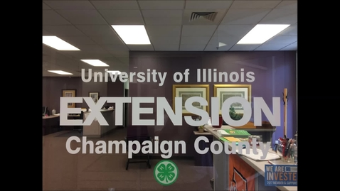 Thumbnail for entry Internship – 4-H Champaign County – Brooke Haag