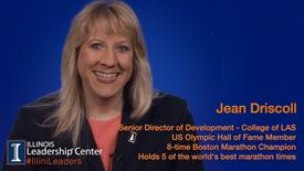 Thumbnail for entry Illinois Leadership Center's #IlliniLeaders Series - Jean Driscoll