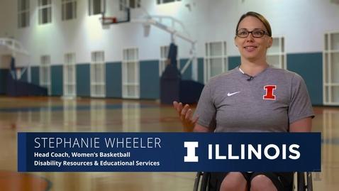Thumbnail for entry The Illinois Professional: Stephanie Wheeler