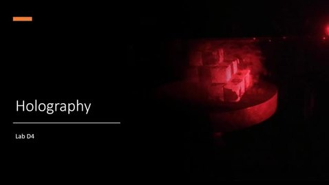 Thumbnail for entry Holography