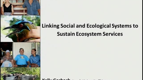 Thumbnail for entry NRES 2012 Fall Seminar Series - Kelly Garbach