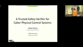 Thumbnail for entry A Trusted Safety Verifier for Cyber-Physical Control Systems