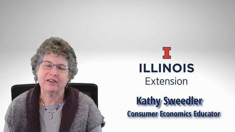 Thumbnail for entry Kathy Sweedler - Streching Your Dollars