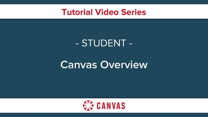 Canvas Overview for Students