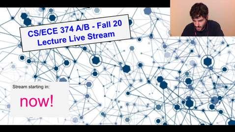 Thumbnail for entry ECE/CS 374 AL1/BL1 Fall 20 - Lecture 5: More NFAs