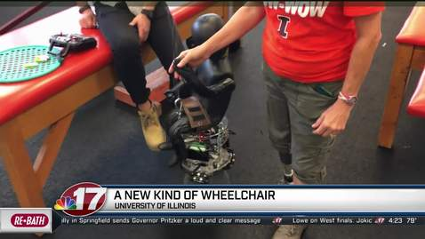 Thumbnail for entry Adam Bleakney-PURE Wheelchair