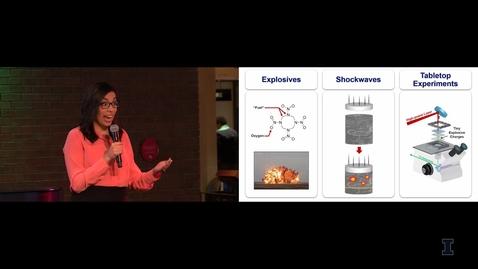 Thumbnail for entry 2018 Live! Belinda P. Johnson: Lasers Shockwaves & the Initiation of Explosives