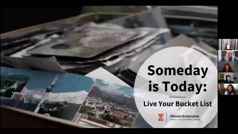Thumbnail for entry Wellness Wednesday - Someday Is Today