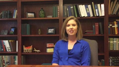 Thumbnail for entry Internship – FLM+ – Abby Marten