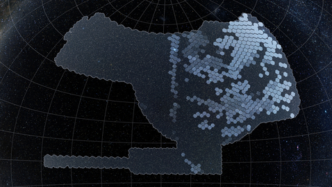 Thumbnail for entry Dark Energy Survey Sky Coverage and Image Zoom