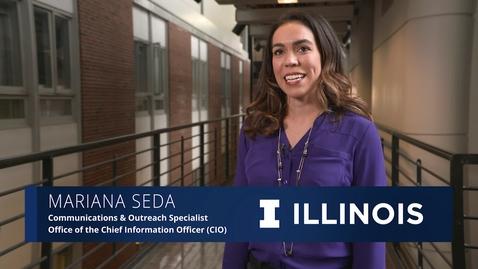 Thumbnail for entry The Illinois Professional: Mariana Seda
