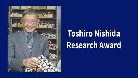 Thumbnail for entry Toshiro Nishida Research Award