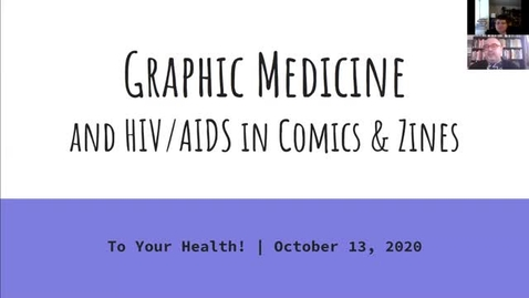 Thumbnail for entry To Your Health!: Graphic Medicine and HIV/AIDS in Comics and Zines