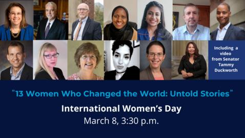 Thumbnail for entry International Women's Day 2021