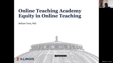 Thumbnail for entry OTA: Equity practices in online courses