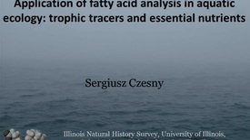 Thumbnail for entry NRES 2012 Fall Seminar Series - Sergiusz Czesny
