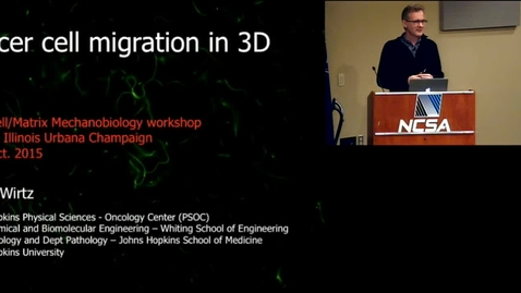 Thumbnail for entry Cancer cell migration in 3D