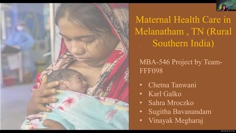 Thumbnail for entry Group98-Mod4GroupAssignment-MaternalHealthforRuralWomen-India
