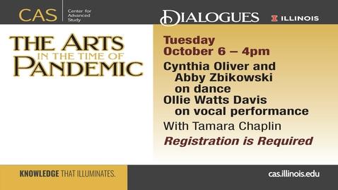 Thumbnail for entry Cynthia Oliver, Abby Zbikowski, Ollie Watts Davis and Tamara Chaplin