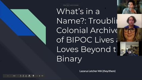 """Thumbnail for entry Becoming a Trans Inclusive Library 