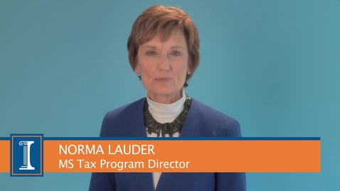 Thumbnail for entry Intro to MS Tax Program - Norma Lauder