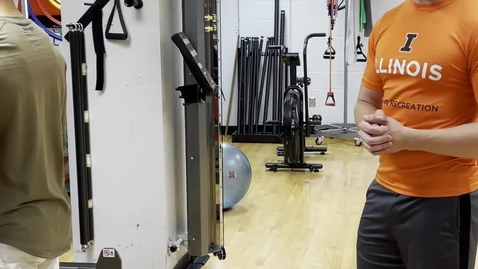 Thumbnail for entry Barbell Overhead Press - progressions and regressions