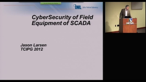 Thumbnail for entry CyberSecurity of Field Equipment of SCADA