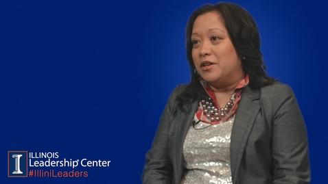 Thumbnail for entry Illinois Leadership Center's #IlliniLeaders Series - Dr. Gigi Secuban