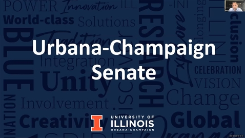 Thumbnail for entry Academic Senate Meeting, Apr. 26, 2021