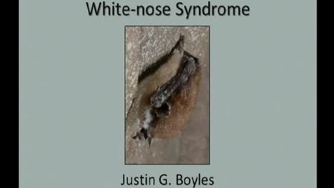 Thumbnail for entry NRES 2012 Fall Seminar Series - Justin G. Boyles