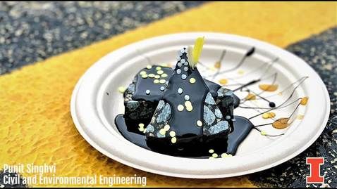 Thumbnail for entry Asphalt Concrete Brownie with Hot Asphalt Fudge by Punit Singhvi
