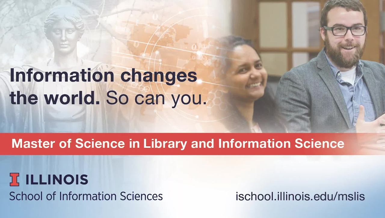 MS-LIS at the University of Illinois Promotional Video
