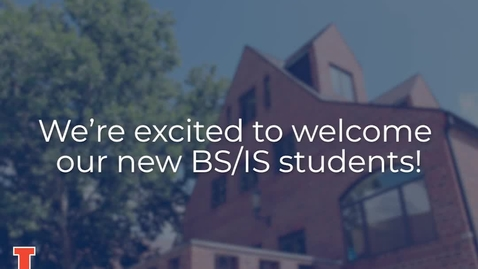 Thumbnail for entry Welcome iSchool BS/IS Students! | iSchool at University of Illinois Urbana-Champaign