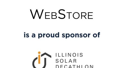 Thumbnail for entry Illinois Solar Decathlon x WebStore (1)