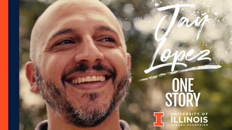 Thumbnail for entry  One Story: UIUC Online Master's Student, Jay Lopez, Recreation, Sport & Tourism