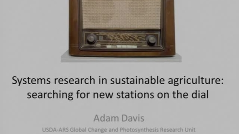 Thumbnail for entry NRES 2012 Spring Seminar Series - Adam Davis