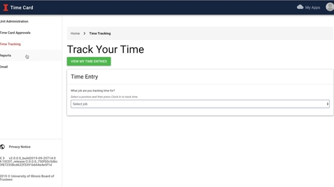 Thumbnail for entry ATLAS Time Card - How to Clock In