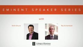 Thumbnail for entry Eminent Speaker Series: A Conversation with Keith Bruce