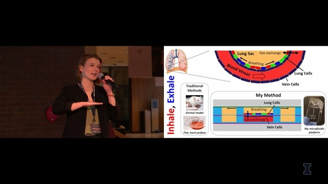 Thumbnail for entry 2018 Research Live! Whitney Sinclair: Inhale, Exhale
