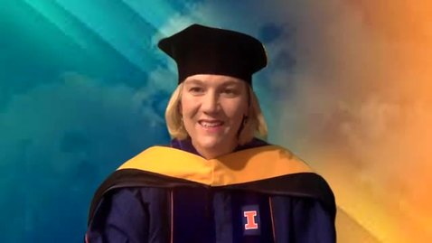 Thumbnail for entry Masters of Science Address, Nicole Allen, Associate Head and Director of Graduate Studies
