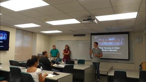 Thumbnail for entry Teaching Online in LAS: Eric Snodgrass pt1