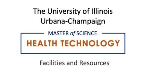 Thumbnail for entry MS-Health Technology Virtual Tour