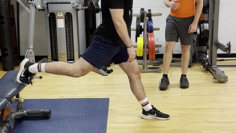 Thumbnail for entry Bulgarian Split Squat - progressions and regressions