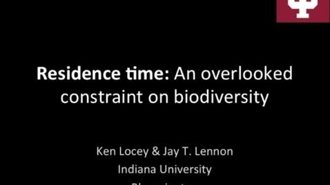 Thumbnail for entry NRES 2015 Fall Seminar Series - Dr. Ken Locey