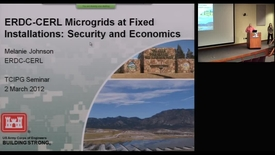 Thumbnail for entry ERDC-CERL Microgrids at Fixed Installations: Security and Economics