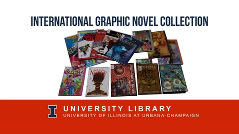 Thumbnail for entry International Comics Collection at the University of Illinois