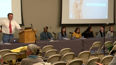 Thumbnail for entry Panel Discussion :  Public Humanities and Community