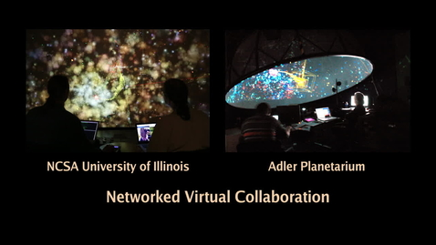 Thumbnail for entry AVL-Adler Planetarium Networked Virtual Collaboration