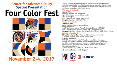 Thumbnail for entry CAS Presentation--Four Color Fest, Andrew Appel